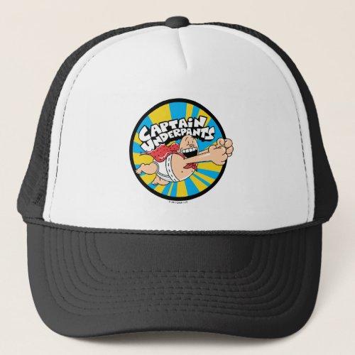 Captain Underpants  Flying Hero Badge Trucker Hat