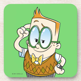 Captain Underpants   Melvin Knows It All Drink Coaster