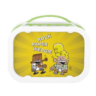 Captain Underpants | Rock Paper Wedgie Lunch Box
