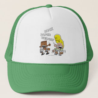 Captain Underpants | Rock Paper Wedgie Trucker Hat