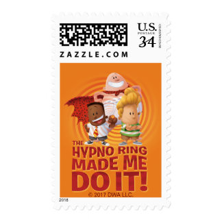 Captain Underpants | The Hypno Ring Made Me Do It Postage