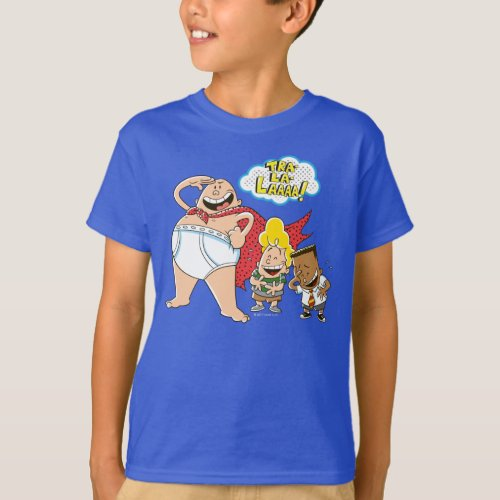 Captain Underpants  Tra_La_Laaaa T_Shirt