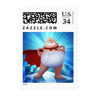 Captain Underpants | Waistband Warrior On Roof Postage