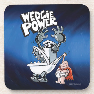 Captain Underpants   Wedgie Power Beverage Coaster