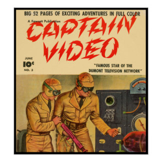 Captain Video Poster