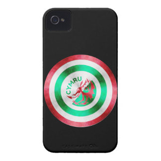 Captain Wales iPhone 4 Cover