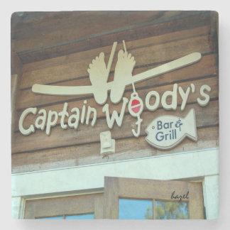 Captain Woody's Hilton Head Island Coaster. Stone Coaster
