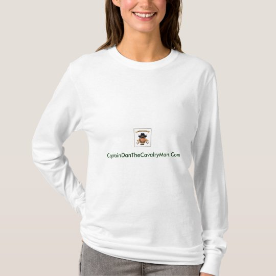 CaptainDanTheCavalryMan.Com-Womens T-Shirt