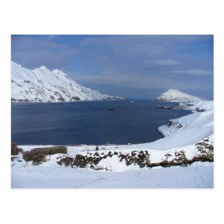 Captain's Bay in Winter, Unalaska Island Postcards