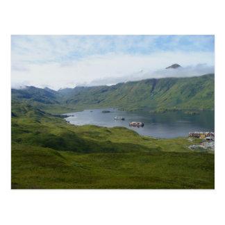 Captain's Bay, Unalaska Island Postcard
