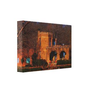 Captains Castle,  Oklahoma Canvas Print