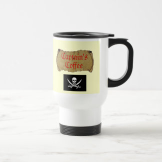 Captain's Coffee Coffee Mug