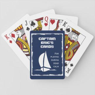 Captain's (customizable) Cards for Dead Calm