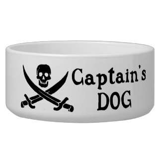 Captain's Dog Dog Bowl