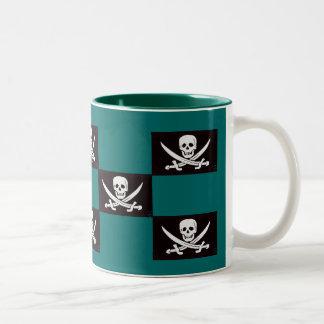 Captain's Gambit-III Two-Tone Coffee Mug