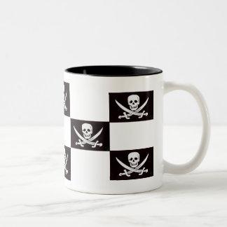 Captain's Gambit Two-Tone Coffee Mug