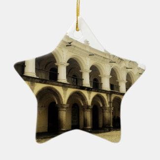 Captain's guard in Antigua Guatemala Christmas Ornament