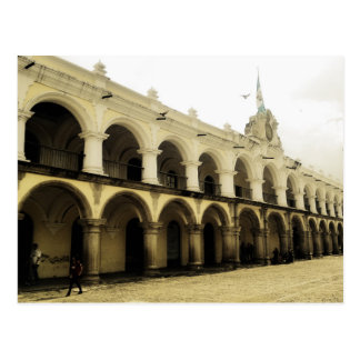 Captain's guard in Antigua Guatemala Postcard