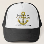 "Captain&#39;s Hat &quot;Because I said so!&quot;<br><div class=""desc"">Every boat or ship&#39;s captain ends up with somebody working for them who knows everything and  wants to argue.  This hat lays down the law:  &quot;Because I am the Captain and I said so!</div>"