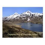 Captains la bahía de la isla de Unalaska Postal