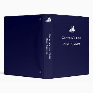 Captain's Log 3 Ring Binder