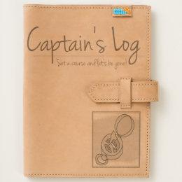 Captain's Log Leather Journal