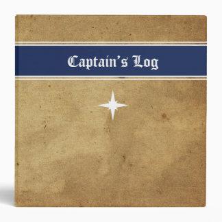 Captain's Log Nautical Journal Binder