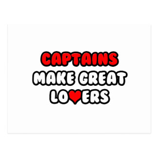 Captains Make Great Lovers Postcard