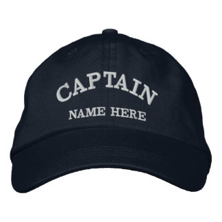 Captains Name Sailor Hat