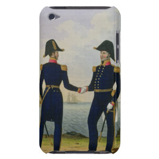 Captains, plate 5 from 'Costume of the Royal Navy Barely There iPod Case