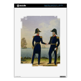 Captains, plate 5 from 'Costume of the Royal Navy iPad 3 Decal