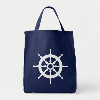 Captain's Ship Wheel Tote Bag for Beach, Summer