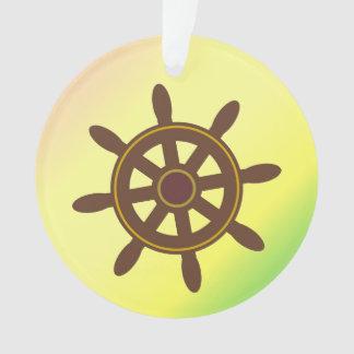 Captain's Wheel Ornament