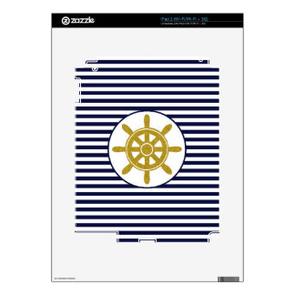 Captain's Wheel Skin For iPad 2