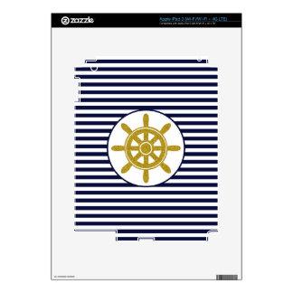 Captain's Wheel Skin For iPad 3