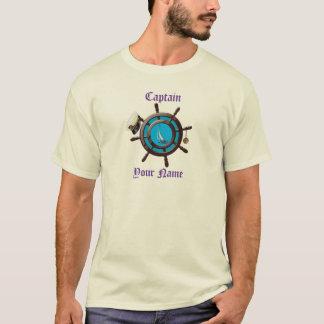 Captains Wheel w/Cap T-Shirt