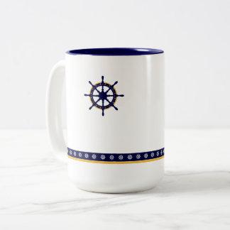 Captain's Wheel Winter Mug