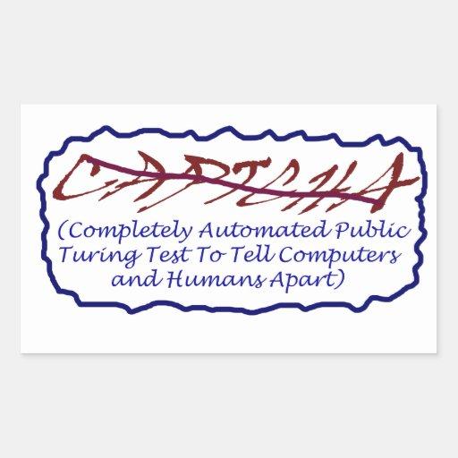 CAPTCHA PEGATINA RECTANGULAR