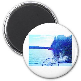 captian of your ship fridge magnet