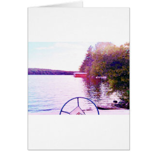 captian of your ship perfect light greeting card