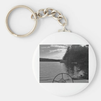 captian of your ship stormy light basic round button keychain