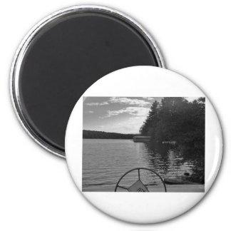 captian of your ship stormy light fridge magnets
