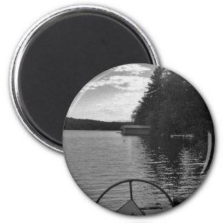 captian of your ship stormy light refrigerator magnet