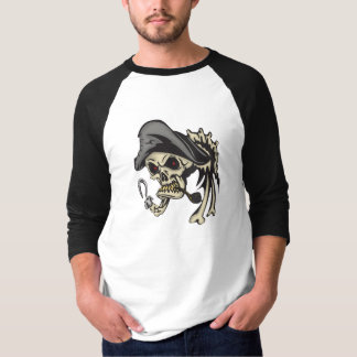 Caption Hook Pirate Skull T-Shirt