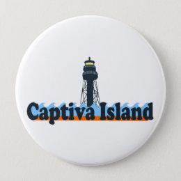 Captiva Island. Button