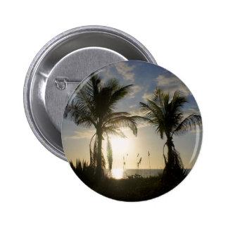 Captiva Island 2 Inch Round Button