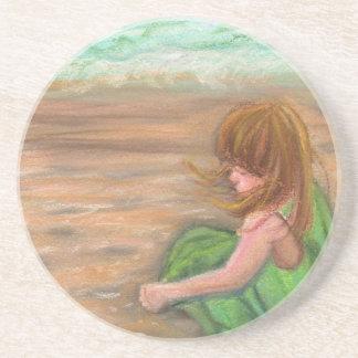 Captiva Island Florida Art Coaster