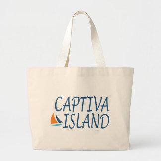 Captiva Island Large Tote Bag