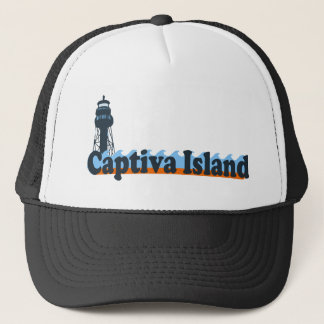 Captiva Island - Lighthouse Design. Trucker Hat