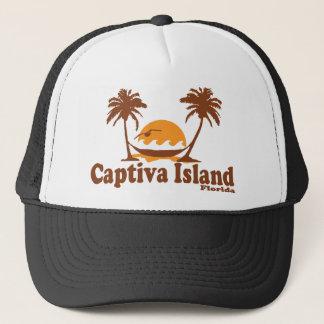 Captiva Island -  Palm Trees.. Trucker Hat